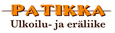 Ulkoilu- ja eräliike Patikka logo 400px